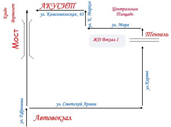 Карта армавира(скачать)